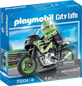 Playmobil City Life Μοτοσικλέτα Παντός Εδάφους Με Αναβάτη (70204)