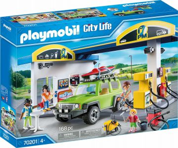 PLAYMOBIL CITY LIFE – ΠΡΑΤΗΡΙΟ ΚΑΥΣΙΜΩΝ (70201)