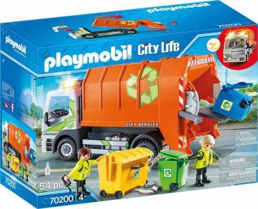 Playmobil City Life – Φορτηγό Ανακύκλωσης 70200