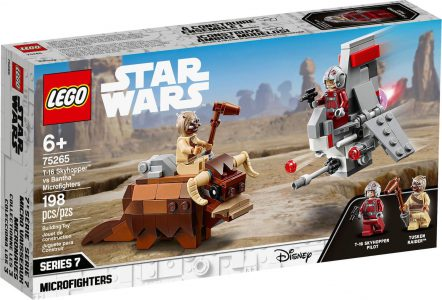 LEGO STAR WARS TM T-16 SKYHOPPER vs BANTHA MICROFIGHTERS (75265)
