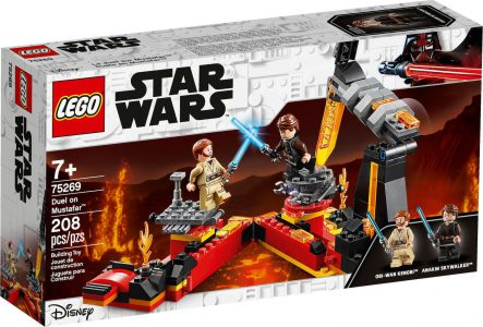 Lego Star Wars Duel on Mustafar 75269