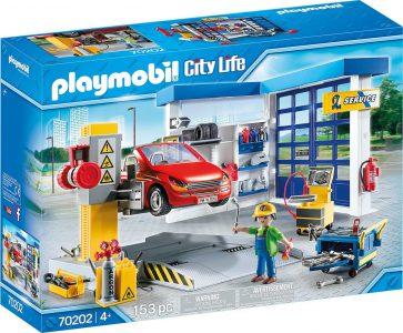 PLAYMOBIL CITY LIFE ΣΥΝΕΡΓΕΙΟ ΑΥΤΟΚΙΝΗΤΩΝ (70202)