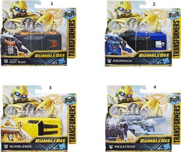 Hasbro Transformers Movie 6 Bumblebee: Energon Igniters – Dropkick-2 Σχέδια E0698
