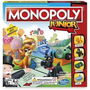 Hasbro – Επιτραπέζιο – Monopoly Junior A6984