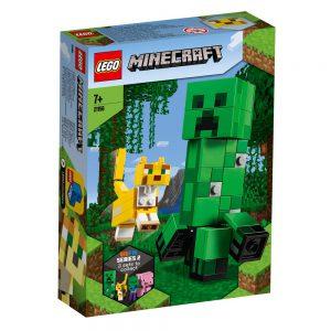 Lego Minecraft – BigFig Creeper and Ocelot 21156