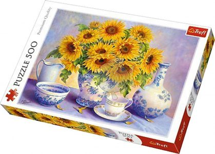 Trefl Puzzle 500 Pcs SUNFLOWERS (ΗΛΙΟΤΡΟΠΙΑ) 37293