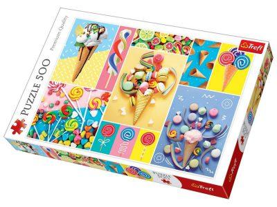 Trefl Puzzle 500 Pcs FAVORITE SWEETS 37335