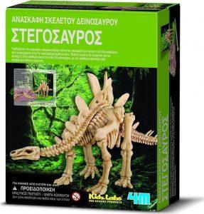 4M Ανασκαφή δεινοσαύρων Στεγόσαυρος 00-03229
