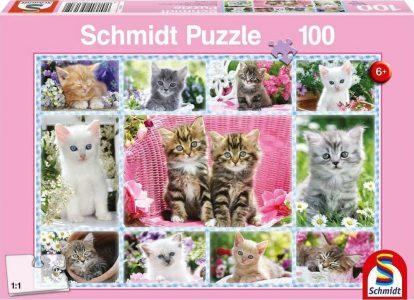 Schmidt Puzzle 100 Pcs Γατάκια 56135