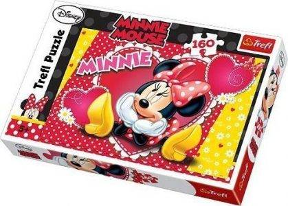 Trefl Puzzle 160 Pcs Thinking Minnie 15220