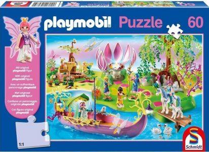 Schmidt Playmobil Puzzle 60 Pcs Νεράιδες (με Φιγούρα) 56075