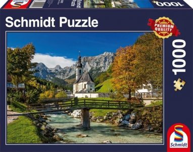 Schmidt Puzzle 1000 Pcs Reiteralpe Ramsau (58225)