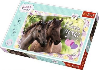 Trefl Puzzle 260 Pcs We Love Horses 13213