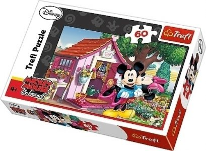 TREFL PUZZLE 60 Pcs MICKEY+MINNIE 17285