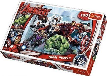 TREFL PUZZLE 100 Pcs AVENGERS 16272