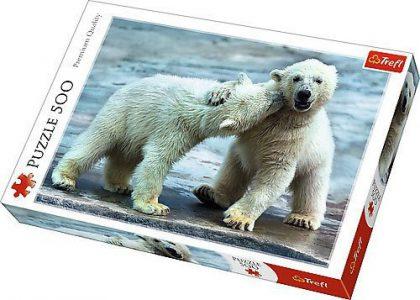 Trefl Puzzle 500 Pcs Polar Bears (37270)