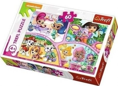 TREFL PUZZLE 60 Pcs NICKELODEON Multi-Property 17309