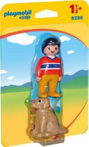 Playmobil 1.2.3 Αγόρι Με Σκυλάκι (9256)