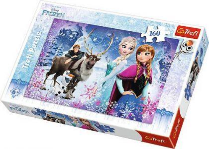Trefl Puzzle 160 Pcs Wintery Adventures 15344