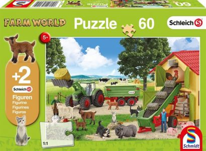 Schmidt Puzzle 60 Pcs Hay Entrance on the Farm 56241