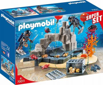 Playmobil City Action – SuperSet Ομάδα Υποβρύχιων Αποστολών 70011