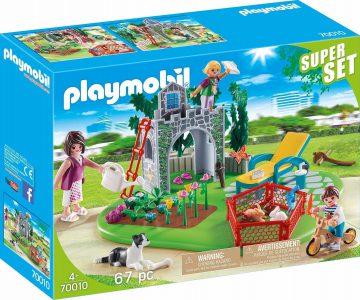 Playmobil Country – SuperSet Οικογενειακός Κήπος 70010