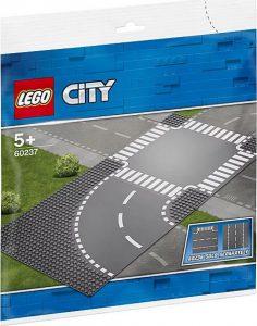 LEGO City Καμπύλη Και Διασταύρωση 60237