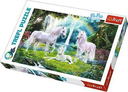 Trefl Puzzle 260 Pcs Unicorns – Μονόκεροι 13240