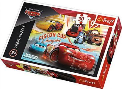 Trefl Puzzle 30 Pcs Cars Piston Cup 18233
