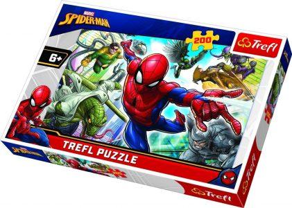 Trefl Puzzle 200 Pcs SPIDERMAN BORN HERO 13235