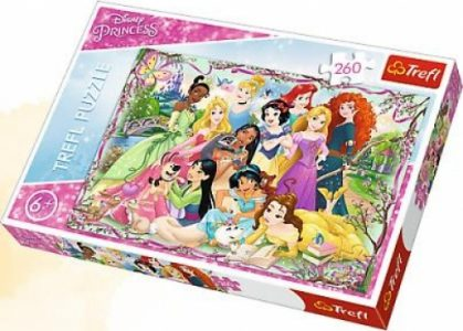Trefl Puzzle 260 Pcs Princesses Meeting 13242