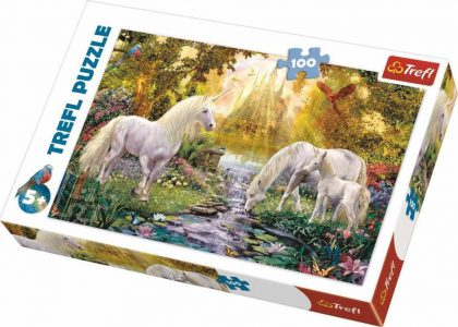 TREFL PUZZLE 100 Pcs SECRET GARDEN 16349
