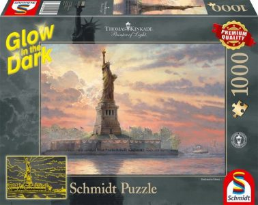 Schmidt Puzzle 1000 Pcs – ΦΩΣΦΟΡΙΖΟΝ ΑΓΑΛΜΑ ΤΗΣ ΕΛΕΥΘΕΡΙΑΣ 59498