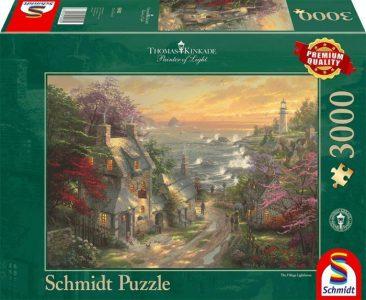 Schmidt Puzzle 3000 Pcs Αχυρώνας και Φάρος 59482
