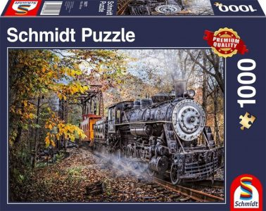 Schmidt Puzzle 1000 Pcs Fascination Railroad 58377