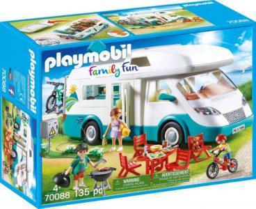 Playmobil Family Fun – Αυτοκινούμενο Οικογενειακό Τροχόσπιτο 70088