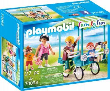 Playmobil Family Fun – Οικογενειακό Ποδήλατο 70093