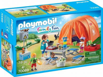 Playmobil Family Fun Οικογενειακή Σκηνή Camping 70089