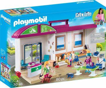 Playmobil City Life – Βαλιτσάκι Κτηνιατρική Κλινική 70146