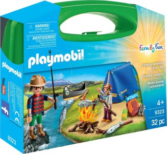 Playmobil Family Fun Maxi Βαλιτσάκι Κατασκήνωση Στην Εξοχή (9323)