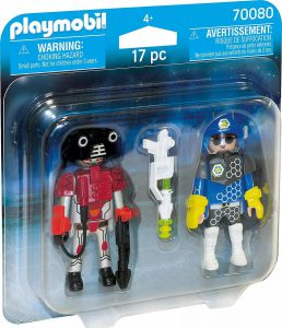 Playmobil Space Duo Pack Αστυνόμος Διαστήματος Και Κακοποιός (70080)