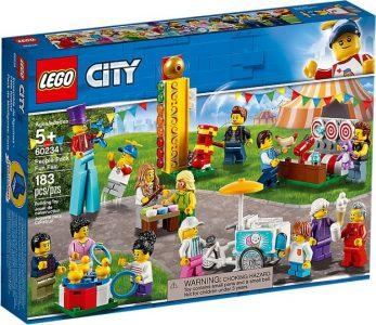 LEGO City Πακέτο Με Ανθρώπους – Διασκέδαση Στο Λούνα Παρκ 60234