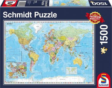 Schmidt Puzzle 1500 Pcs The World 58289