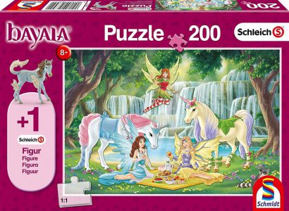 Schmidt Puzzle 200 Pcs Picnic Of The Elves 56304