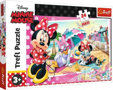 TREFL PUZZLE 24 Pcs MAXI  MINNIE'S HOLIDAY 14292