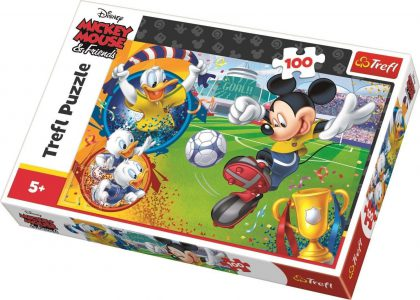 Trefl Puzzle 100 Pcs MICKEY MOUSE ON THE FIELD 16353