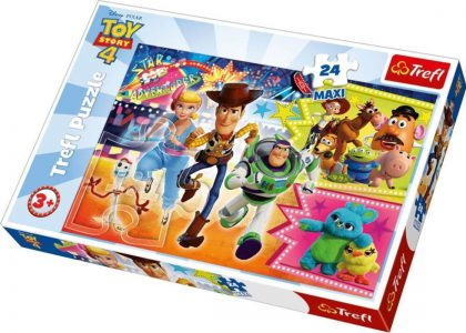 TREFL PUZZLE 24 Pcs MAXI TOY STORY ADVENTURE 14295