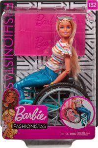 Mattel Babrie Fashionista Με Αναπηρικό Αμαξίδιο GGL22