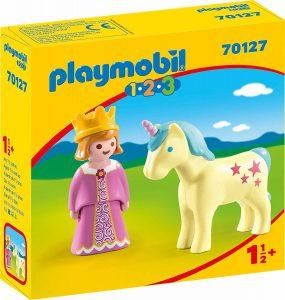Playmobil 1-2-3 Πριγκίπισσα με Μονόκερο (70127)