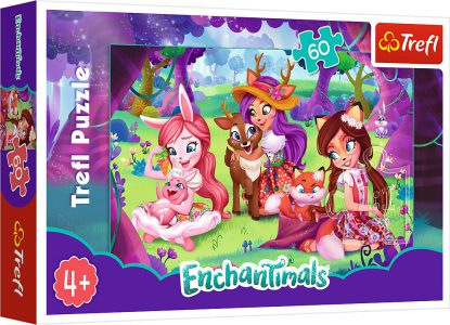 TREFL PUZZLE 60 Pcs ENCHANTIMALS AFTERNOON 17318